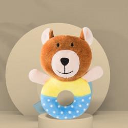 Мягкая игрушка-погремушка Медведь