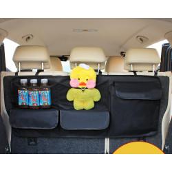 Органайзер подвесной, в багажник авто. Черный.