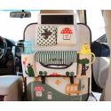 Органайзер для автомобиля, детский, зеленый. IPAD Лес.
