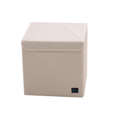 Складной ящик с крышкой. Белый.