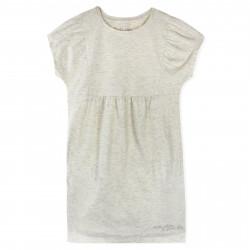 Платье для девочки, бежевое.