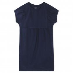 Платье для девочки, синее.