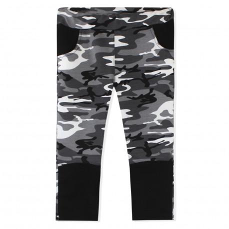 Штаны для мальчика, серые. Military.