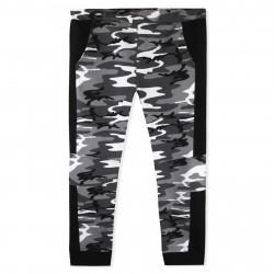 Штаны спортивные для мальчика, серые. Military.