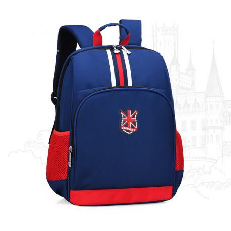 Рюкзак для мальчика, синий. Лондон.