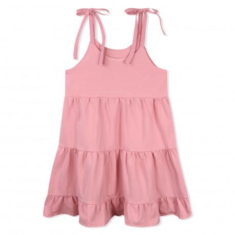 Сарафан для девочки, розовый. Колокольчик.