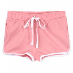 Шорты для девочки, розовые. Спорт.