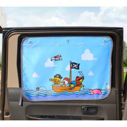 Защитная шторка для автомобиля. Пираты.