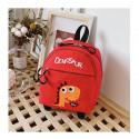 Детский рюкзак, красный. Дино.