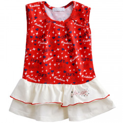 Платье для девочки, красное. Fashion
