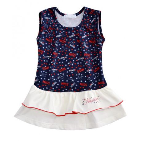 Платье для девочки, синее. Fashion
