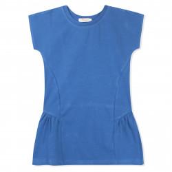 Платье для девочки, синее. Стиль.