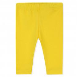 Бриджи для девочки, до колен, желтые