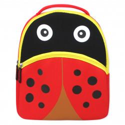 Детский рюкзак, красный. Божья коровка.