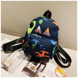 Мини-рюкзак , детский рюкзак, синий. Эра динозавров.