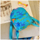 Мини-рюкзак , детский рюкзак, голубой. Эра динозавров.