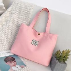 Сумка-шоппер, шоппер, сумка детская, сумка для сменой обуви. Розовый.
