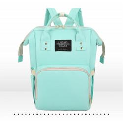 Сумка-рюкзак, мама-сумка. Мятный.