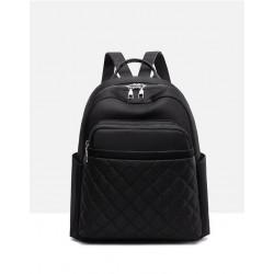 Рюкзак, городской рюкзак, черный. Ромбики.
