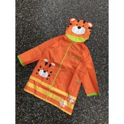 Дождевик детский, оранжевый. Тигруля.