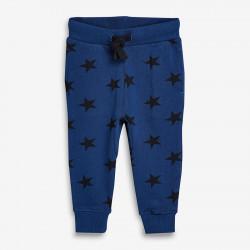 Штаны утепленные для мальчика, синие. Звезды.