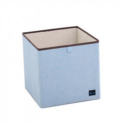 Складной ящик для хранения, голубой.
