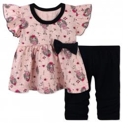 Костюм для девочки, розовый. Модница.