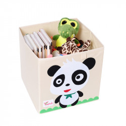 Складной ящик для игрушек. Панда.