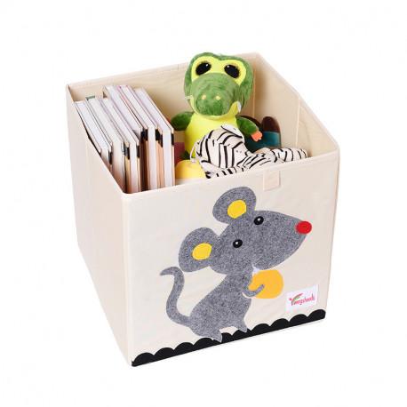 Складной ящик для игрушек. Мышка