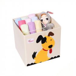 Складной ящик для игрушек. Песик.