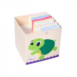 Складной ящик для игрушек. Черепашка.