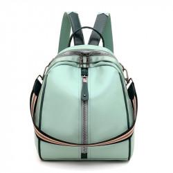 Рюкзак, городской рюкзак, кросс-боди. Нежно-фисташковый.