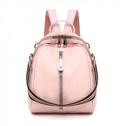Рюкзак, городской рюкзак, кросс-боди. Нежно-розовый.