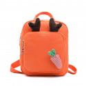 Детский рюкзак, оранжевый. Бемби и морковочка.