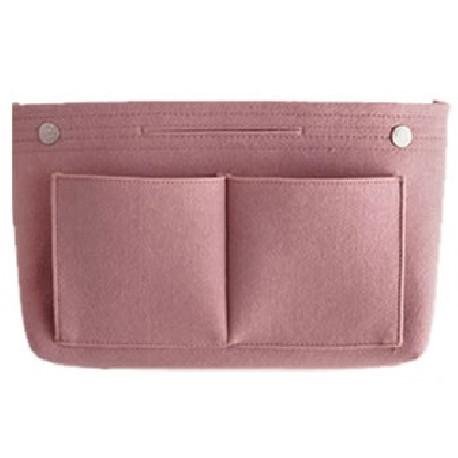 Сумка-органайзер, сумка-переноска, розовая. Фетр.