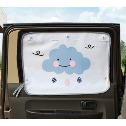 Защитная шторка для автомобиля. Облака