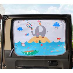 Защитная шторка для автомобиля. Слоник