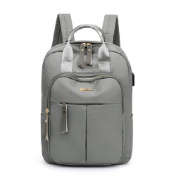 Рюкзак, городской рюкзак, серый. Шик.