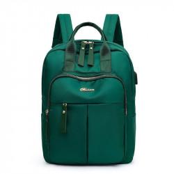 Рюкзак, городской рюкзак, зеленый. Шик.
