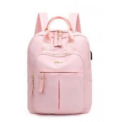Рюкзак, городской рюкзак, розовый. Шик.
