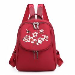 Рюкзак, городской рюкзак, красный. Сакура.