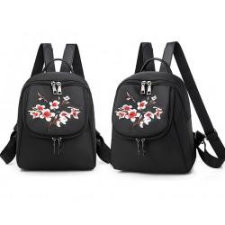 Рюкзак, городской рюкзак, черный. Сакура.