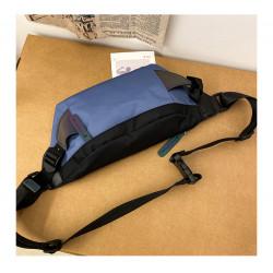 Сумка детская, поясная сумка, синяя. Street style.