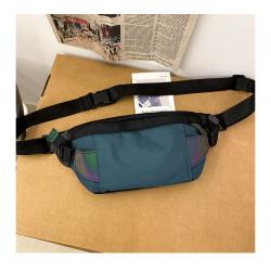 Сумка детская, поясная сумка, темно-синяя. Street style.