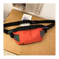 Сумка детская, поясная сумка, красная. Street style.