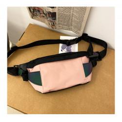 Сумка детская, поясная сумка, розовая. Street style.