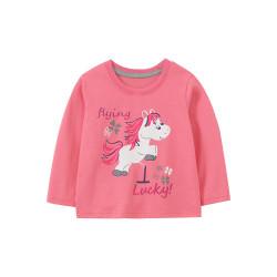 Кофта для девочки, розовая. Пони победитель.