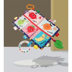 Мягкая развивающая игрушка - коврик. Фрукты.