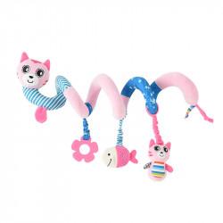 Мягкая подвеска спираль Кошка
