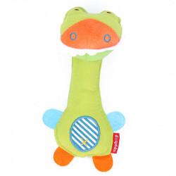 Мягкая погремушка Забавный крокодил